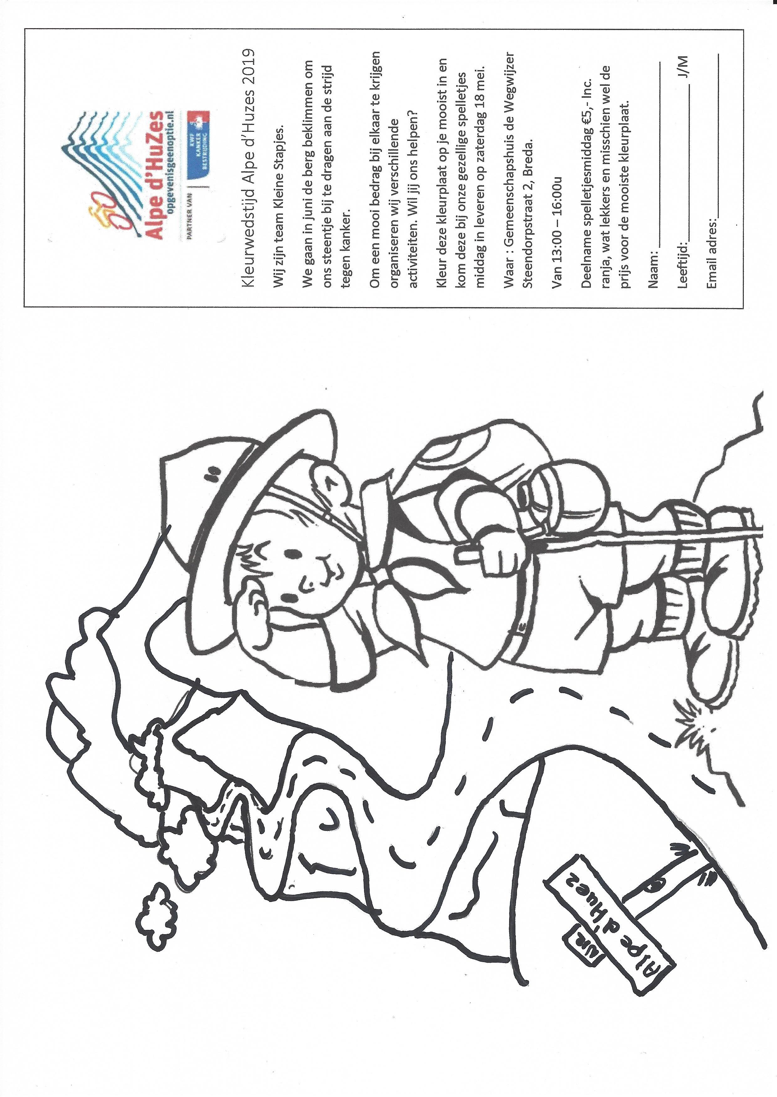 1417ac3dde7 Mooie Prijzen Te Winnen Bij Kleurwedstrijd | Dejachthoorn